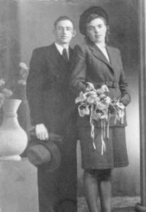 Weegen, Adrianus van der 16.12.1915 & Elizabeth H. Teunisse