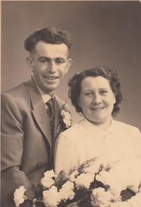 Weegen, Johannes van der & Jo van Boxsel (trouwfoto)