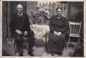 Weegen, Pieter van der & Maria van Tilburg (foto 1951))