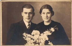 Wegen, Cornelis van der 05.06.1917 & Johanna Rommens