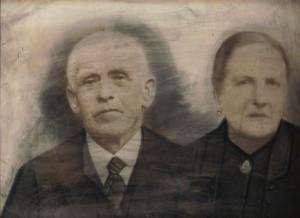 Wegen, Jacobus van der 01.08.1891 & Marie van de Kasteele (foto)