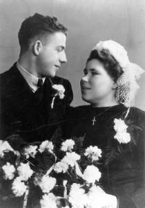 Wegen, Johannes van der (14.06.1923) & Kaat Klaassen